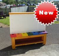 New Out Door Paint Station - From Timbertots